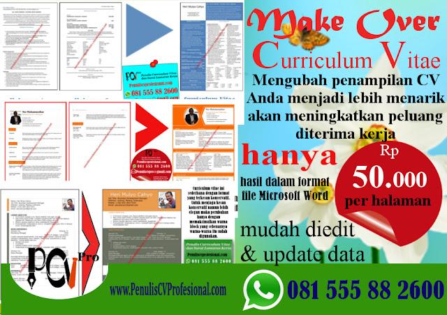 Design CV Menarik