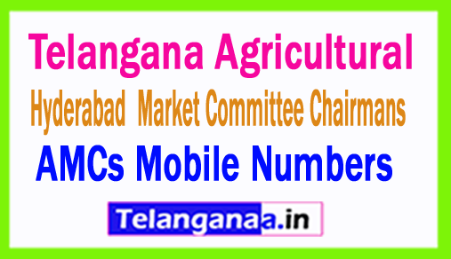 Hyderabad AMCs Mobile Numbers List Telangana Agricultural