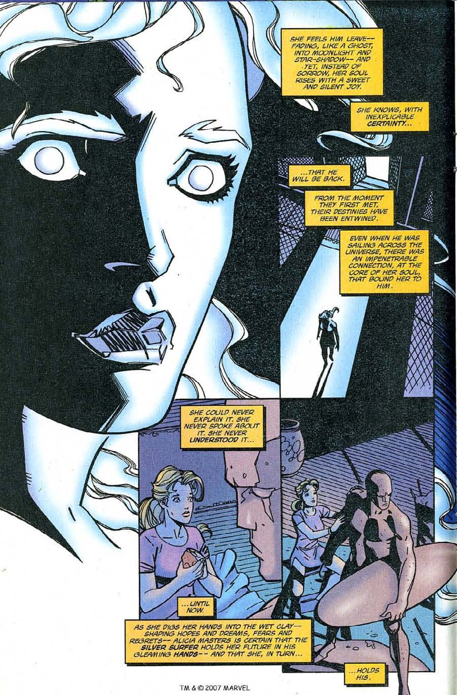 Read online Silver Surfer (1987) comic -  Issue #126 - 8