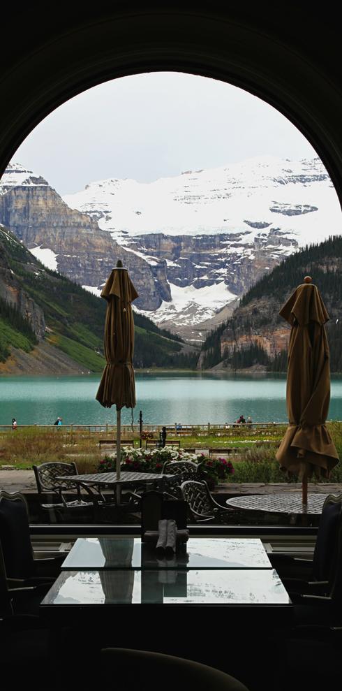 Chateau Lake Louise Hotel Banff Alberta