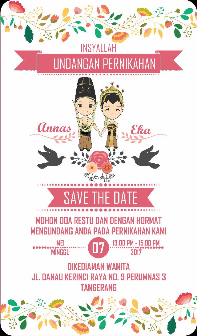 Undangan Pernikahan Online Digital Wedding Invitation Tutordesigns