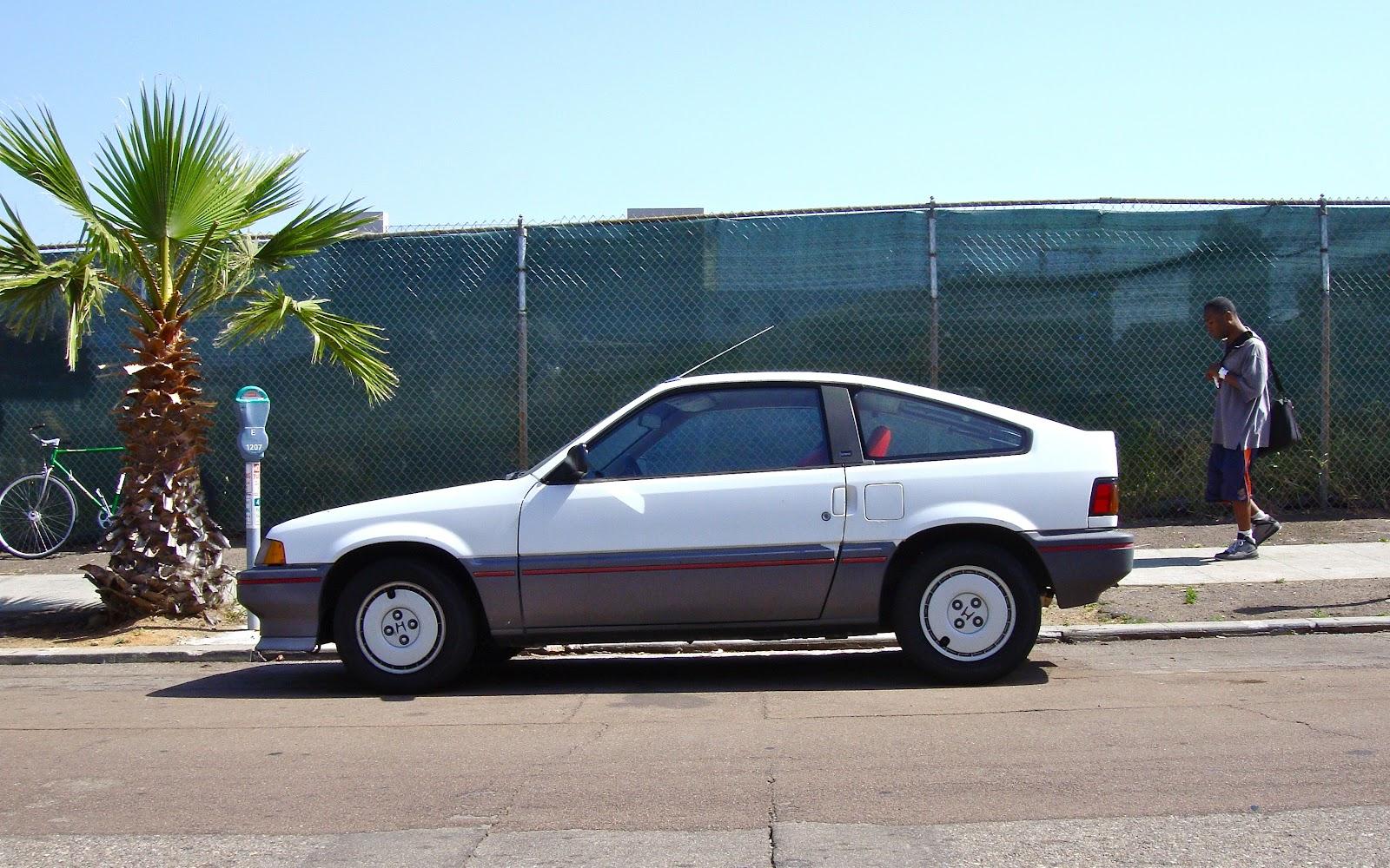 THE STREET PEEP: 1987 Honda Civic CR-X