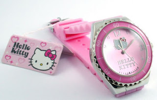 Jam Tangan Anak Karakter Kartun Hello Kitty