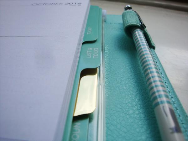 Divisores y porta lápices de la agenda Dokibook