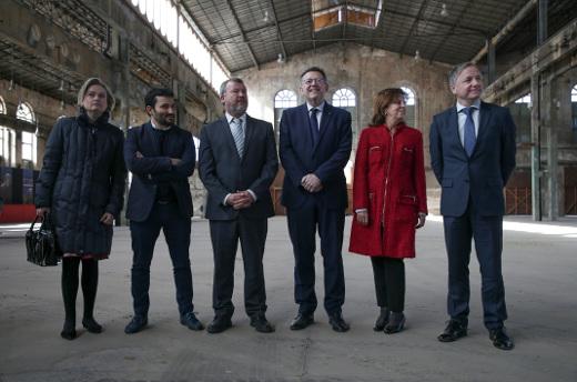 La Generalitat adquiere la Nave de Talleres de Sagunt para albergar actividades culturales