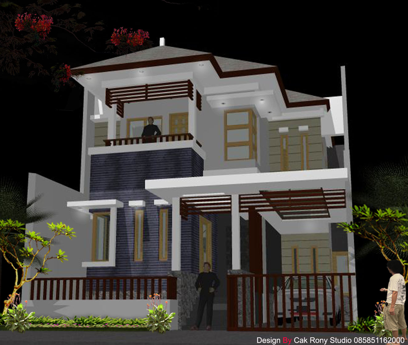 Rumah minimalis modern for Foto interior design
