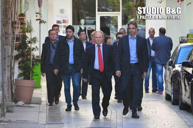 Επίσκεψη Ανδριανού στη Β. Ελλάδα με κλιμάκιο του κόμματος ενόψει παρουσίας Μητσοτάκη στη ΔΕΘ