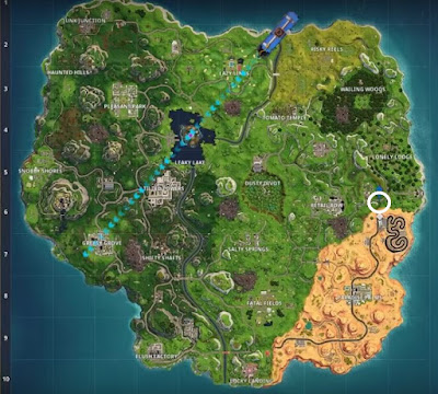 Fortnite, Loading Screen, Banner Location, Season 6, Week 6