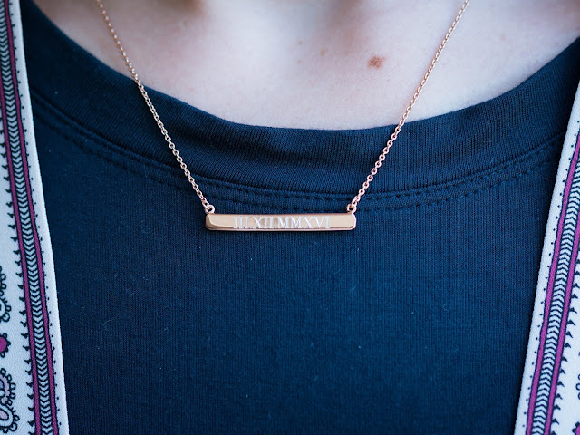 personalized jewelry handpicked monogram everyday emily blog greenville sc southern blogger