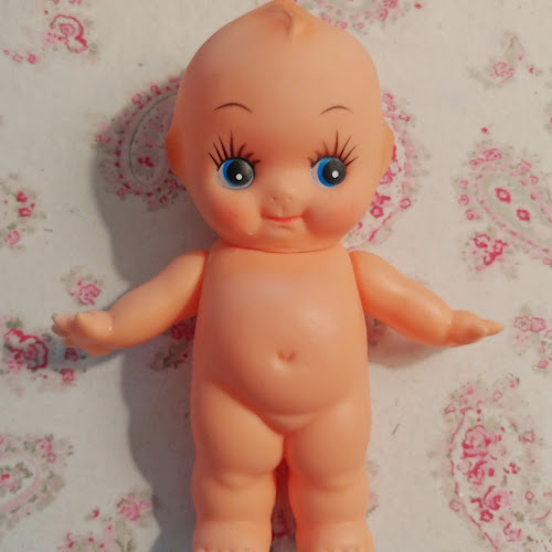 7 Days of Thrift Shop Flips - Day Four - Kewpie Doll Makeover