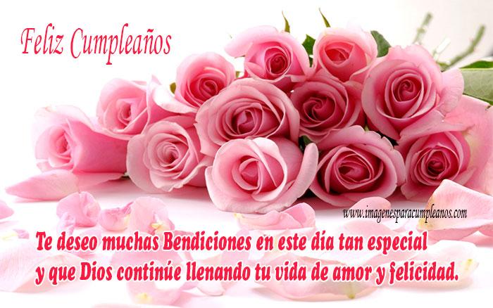 Rosas Feliz Cumpleaños