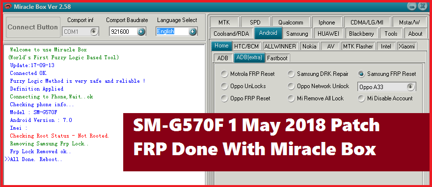 Solved] SM-G570F Galaxy J5 Prime (May 2018 Patch) FRP Unlock