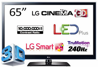 Harga TV LED LG 19, 22, 24, 26, 32, 39, 42, 47, 50, 55, 60, 65, 70, 84 Inch