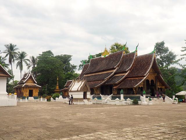 Exterior of Wat Xiengthong, Luang Prabang, Laos