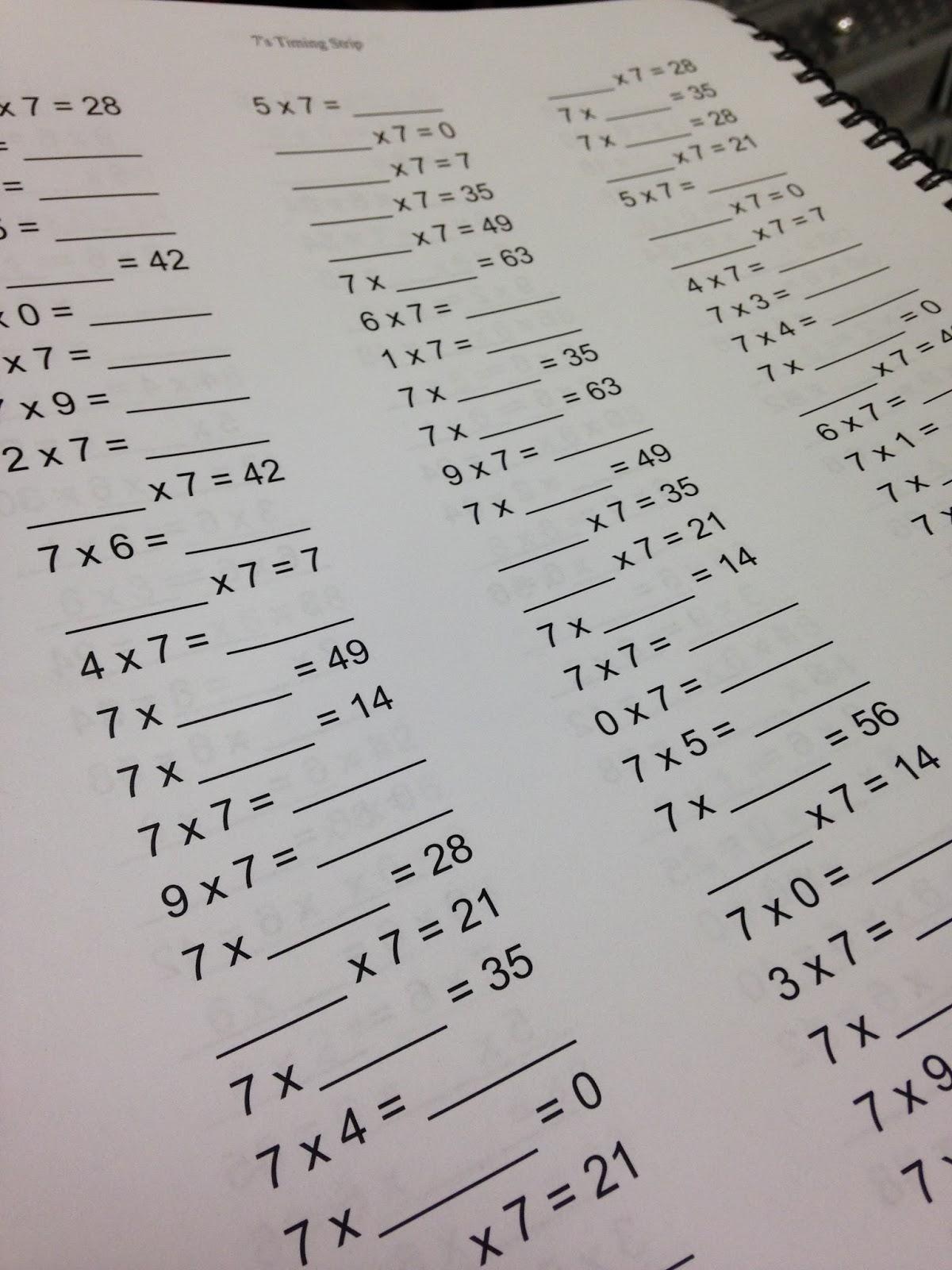 Read Run Teach How To Organize Math Fact Fluency