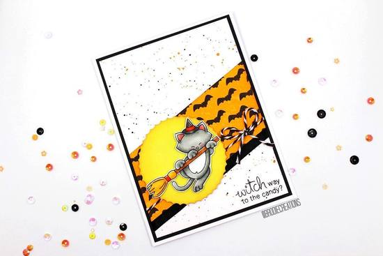 Witch way to the candy by Brodie features Flying Bats and Newton's Boo-tiful Night by Newton's Nook Designs; #newtonsnook
