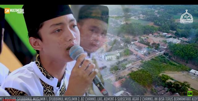 """Lirik """"AKU RINDU"""" Vocal GUS AZMI Majlis Syubbanul Muslimin"""