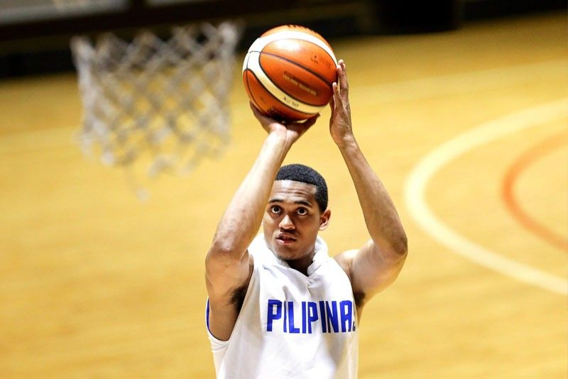 Cleveland Cavaliers Guard Jordan Clarkson's presence on the sidelines boosted Team Philippines