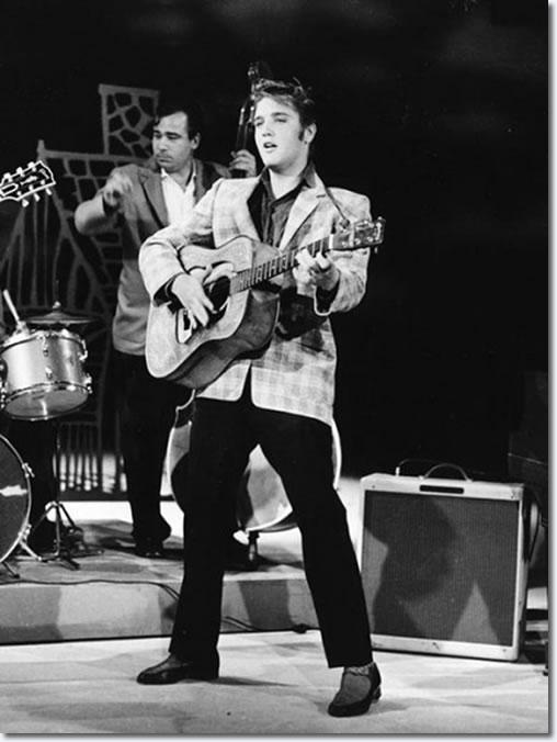 Elvis On Ed Sullivan Blue Suede Shoes