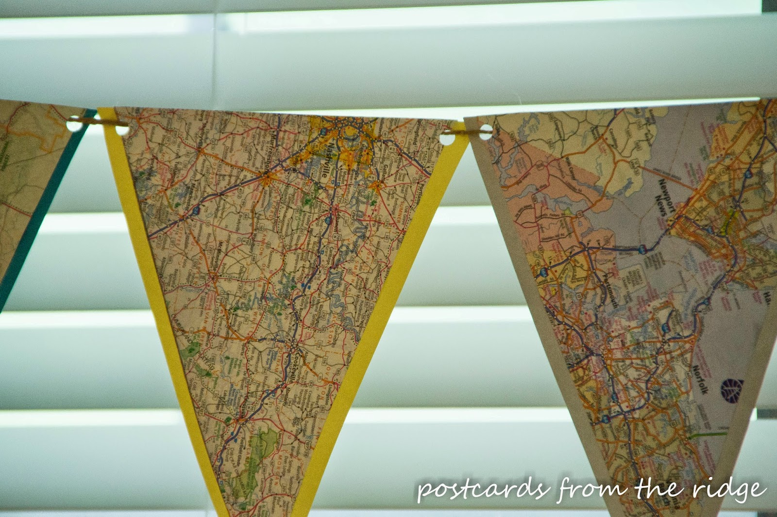 how to make bunting by hand