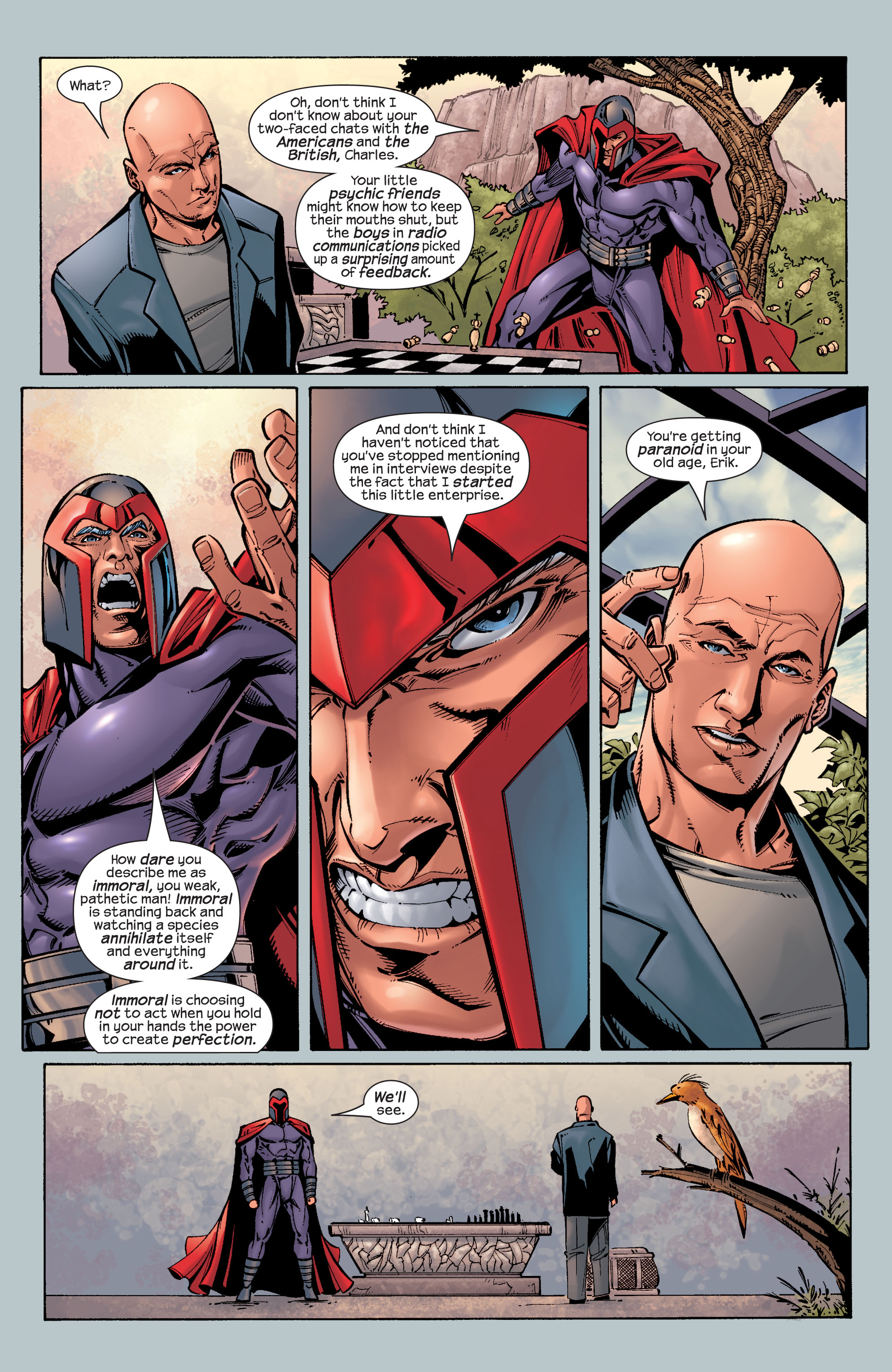 Read online Ultimate X-Men comic -  Issue #26 - 17