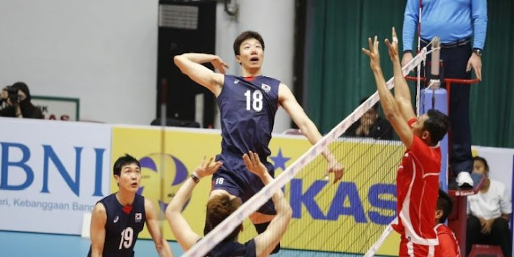 Timnas Volly Indonesia Akui Ketangguhan Korea Selatan di Kejuaraan Voli Asia 2017