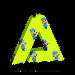 Abc de Pocoyo. Pocoyo Abc.