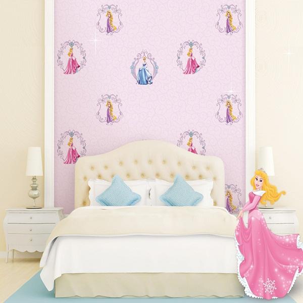 Cách chọn giấy dán tường phòng ngủ cho bé