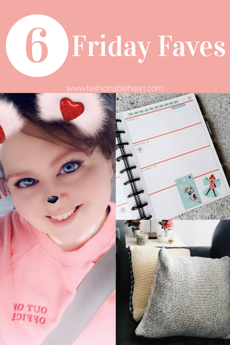 bblogger, bbloggers, bbloggerca, canadian beauty blogger, southern blogger, beauty blog, friday favorites, on my radar, lifestyle, current, warm and fuzzy knits, handmade pillows, horizontal planner, the happy planner, old navy, boyfriend tunic sweatshirt, goodreads