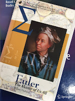 Euler: The Master of Us All,  by William Dunham, superimposed on Intermediate Physics for Medicine and Biology.