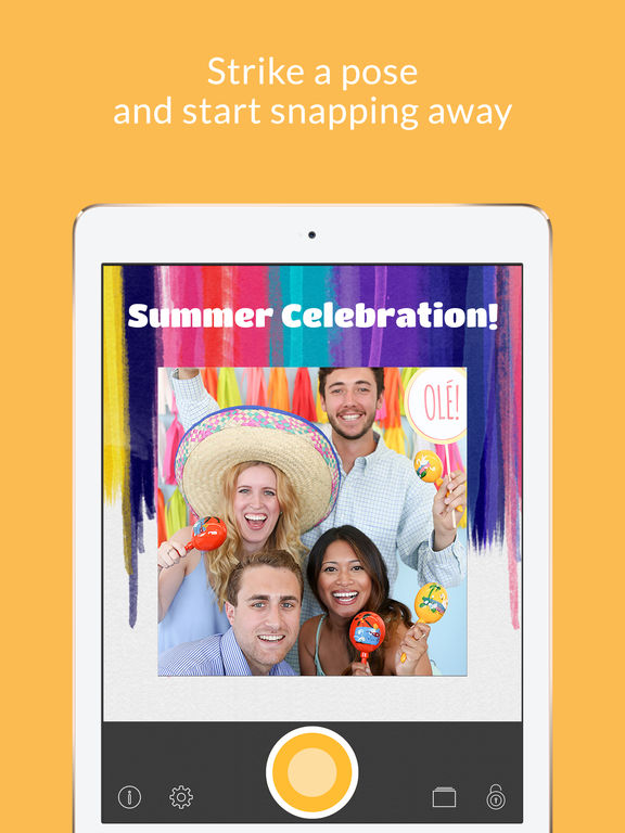 GreyGrey Designs: Create Your Own Photo Booth with Evite
