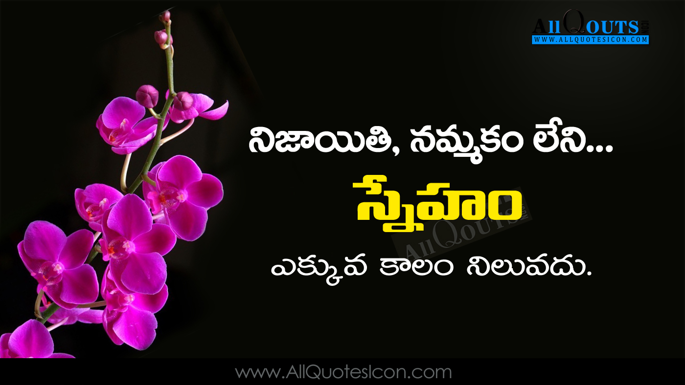 best friendship quots and thoughts in telugu hd wallpapers