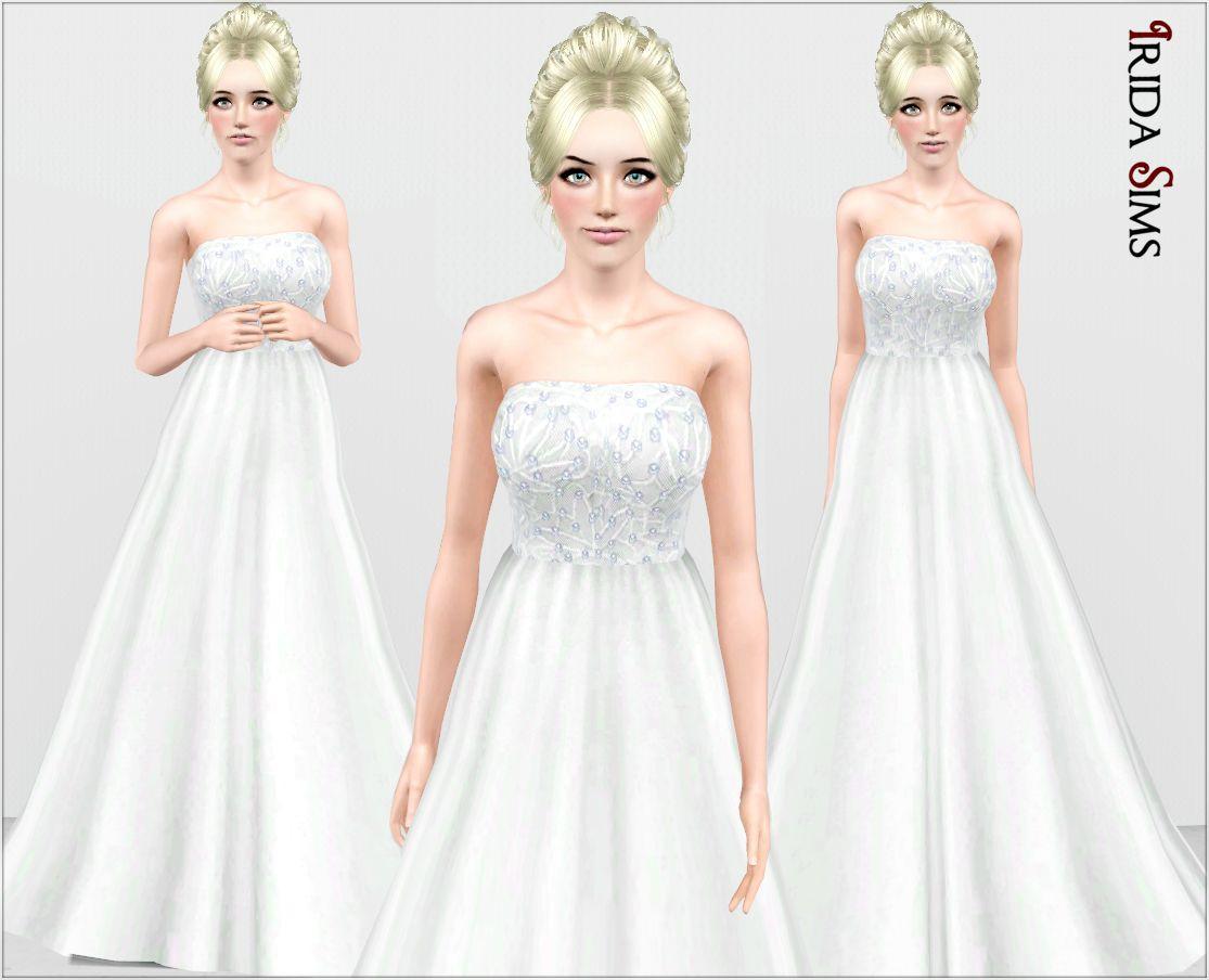 Sims 4 Wedding Veil.Sims 4 Wedding Dress