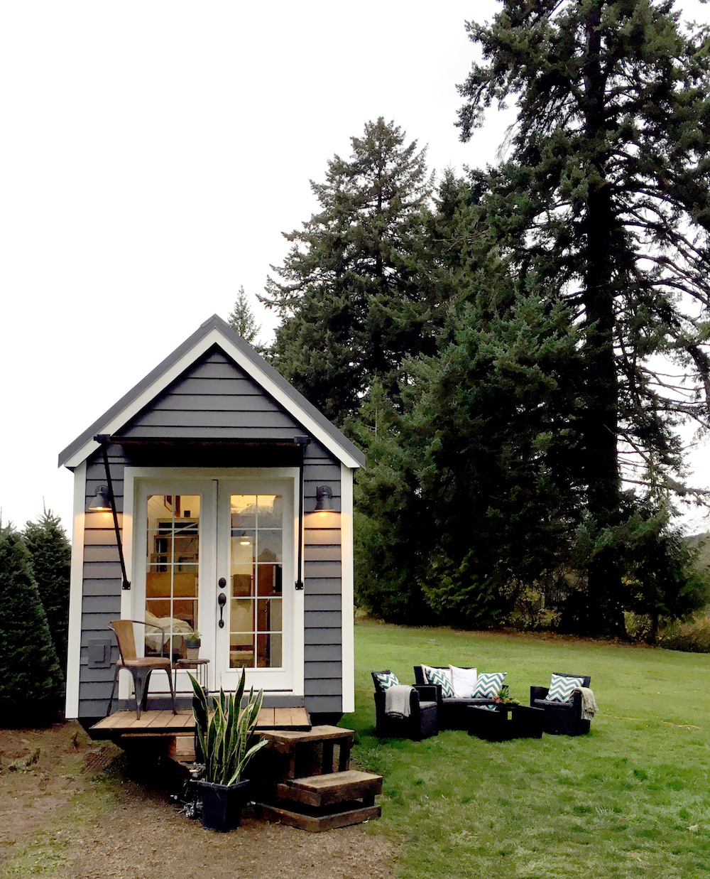 The sapphire house from tiny heirloom tiny house town - Nw Haven By Tiny Heirloom The Nw Haven Is Another Great Tiny House
