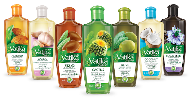 Vatika Enriched Hair Oil Range