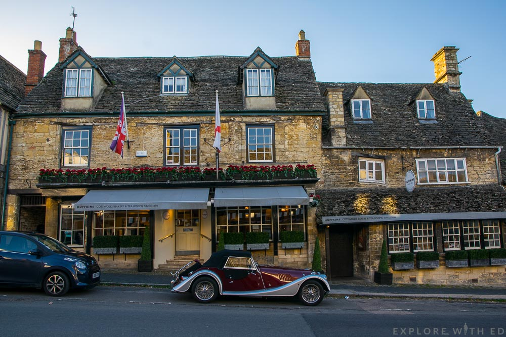 Burford High Street, Huffkins Tea Rooms