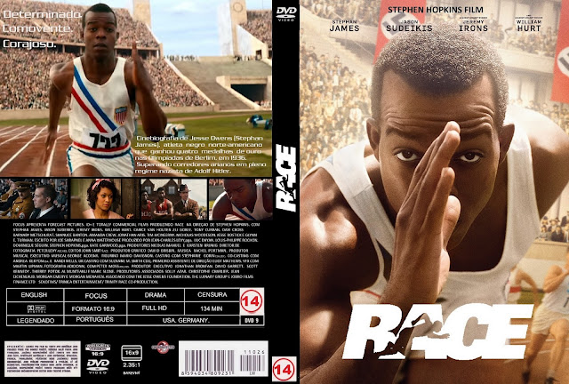 Capa DVD Race