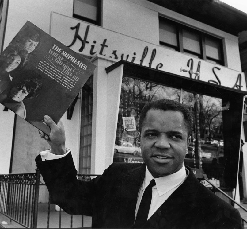 Building Motown from the basement, black entertainment pioneer Berry Gordy