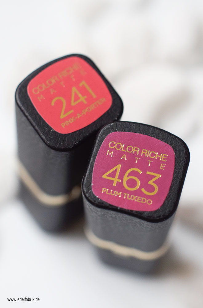 463 Plum Tuxedo, 241 Pink-A-Porter