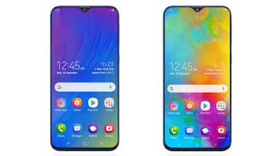 Galaxy M10 aur Galaxy M20 Phone