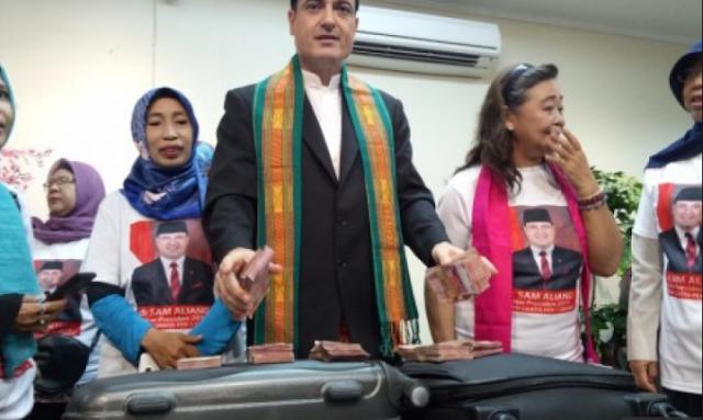 Kembali Berkoak, Sam Aliano Akan Tutup Aplikasi Youtube Jika Terpilih Jadi Presiden.