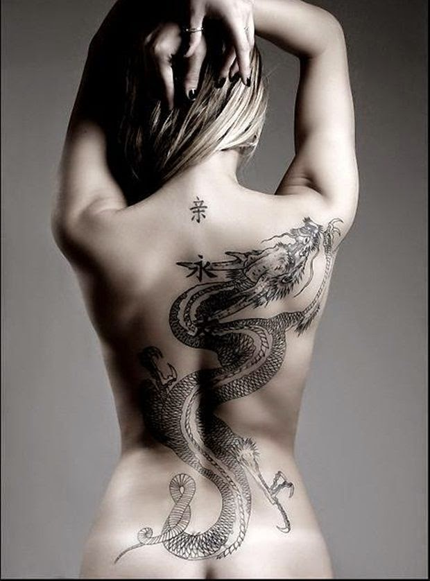 dragon tattoo designs popular