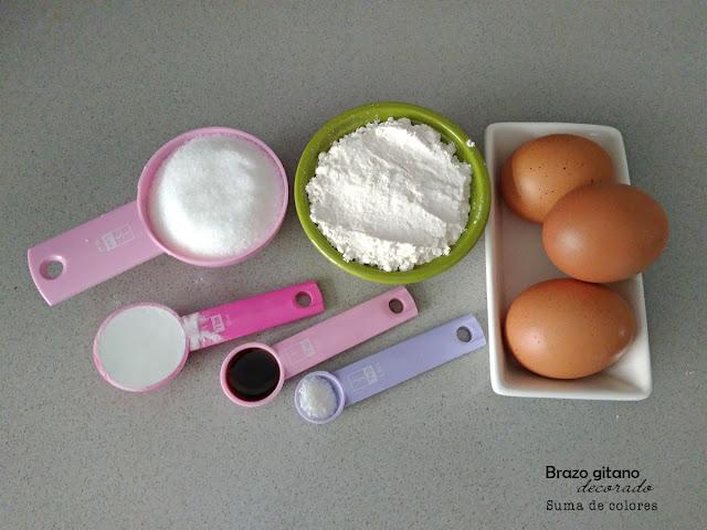 Brazo-gitano-pikachu-ingredientes