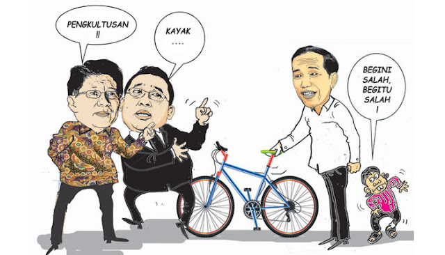 Serba Salah Jokowi
