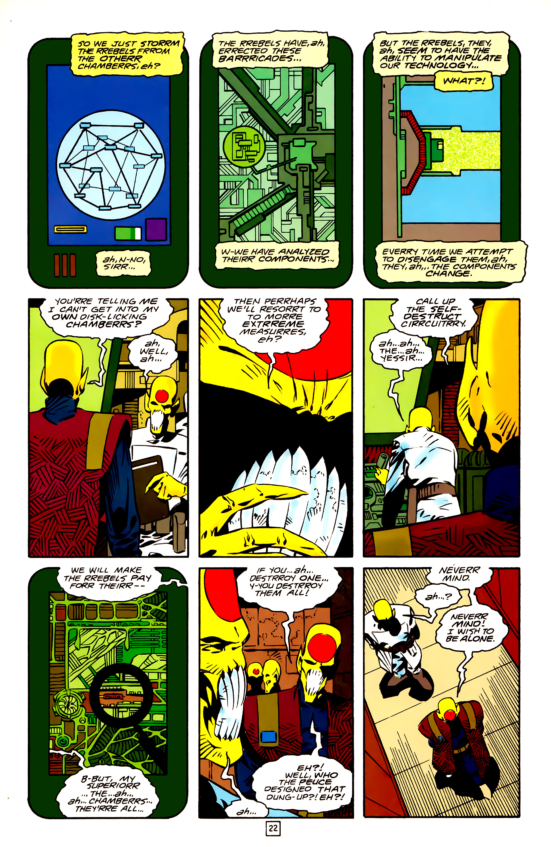 Legion of Super-Heroes (1989) 26 Page 22