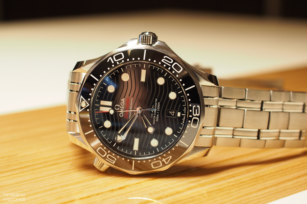 Omega Seamaster Diver 300m New 2018 Collection Time