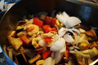 ricetta peperonata light