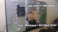 Jasa service sharp tv lcd led tangerang