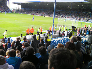 pompey visitors end security ground staff