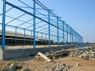 harga konstruksi baja gudang